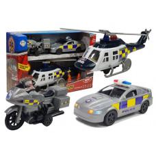 Inlea4Fun SOS STATION Sada policajných vozidiel Preview