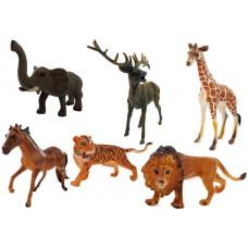 Figúrky - divoké zvieratá 6 ks Inlea4Fun ANIMAL WORLD Savannah Preview