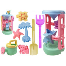Inlea4Fun BEACH TOYS PASTEL Súprava do pieskoviska 8 kusov Preview
