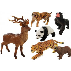 Inlea4Fun ANIMAL WORLD Sada zvieratiek - 6 ks Preview