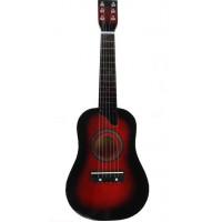 Inlea4Fun Drevená gitara - čerešňová