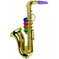 Inlea4Fun Saxofón - zlatý