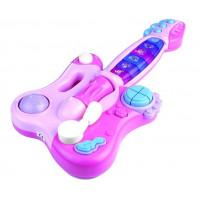 Interaktívna gitara s klavírom Inlea4Fun DINAMIC   - ružová
