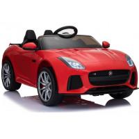 Elektrické autíčko Jaguar F-Type červené - lakované prevedenie