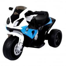 BMW S1000 RR mini detská elektrická trojkolka modrá Preview