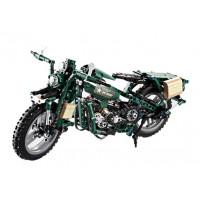 Inlea4Fun DETECH Stavebnica vojenská motorka 550 ks
