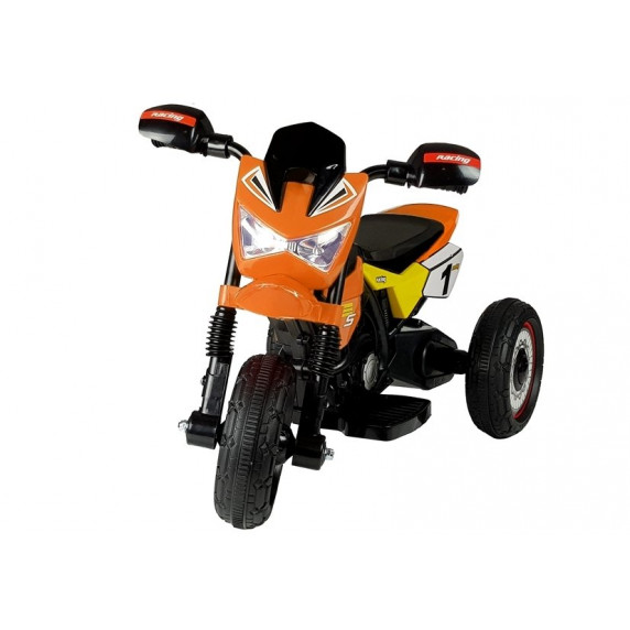 Detská elektrická trojkolka GTM2288-A - oranžová