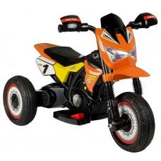 Detská elektrická trojkolka GTM2288-A - oranžová Preview