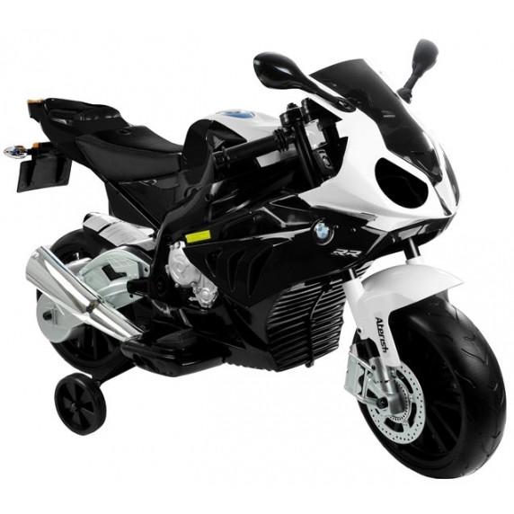 BMW S1000 RR Detská elektrická motorka - čierna