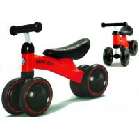 Detské odrážadlo motorka Inlea4Fun Yang Kai - červené