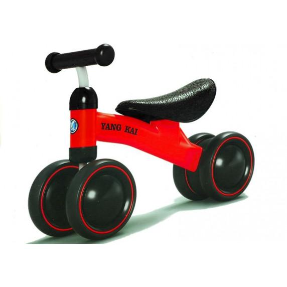 Detské odrážadlo motorka Inlea4Fun Yang Kai - cervena