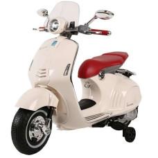 Elektrická motorka Inlea4Fun VESPA GTS 300 - biela Preview