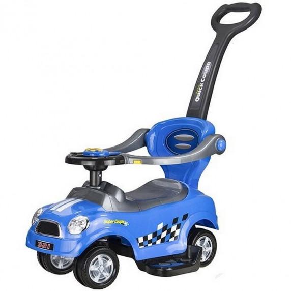 Detské hrajúce odrážadlo Inlea4Fun COUPE  3v1 - modrá