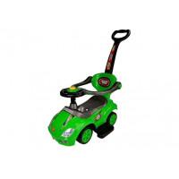 Inlea4Fun Detské odrážadlo Super Ride 3 v 1 - zelené
