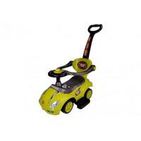 Inlea4Fun Detské odrážadlo Super Ride 3 v 1 - žlté