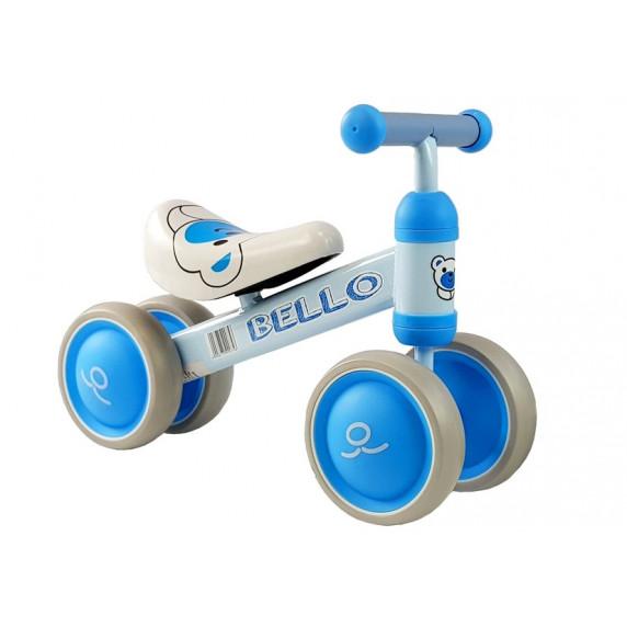 Inlea4Fun Detské odrážadlo BELLO - modré