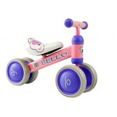 Inlea4Fun Detské odrážadlo BELLO - ružové Preview