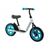 Detské cykloodrážadlo Inlea4Fun MASSIMO - bielo-modré