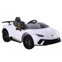 Elektrické autíčko LAMBORGHINI Huracan Inlea4Fun - biele