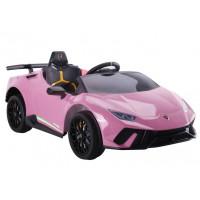 Elektrické autíčko LAMBORGHINI Huracan Inlea4Fun - ružové