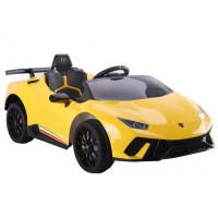 Elektrické autíčko LAMBORGHINI Huracan Inlea4Fun - žlté