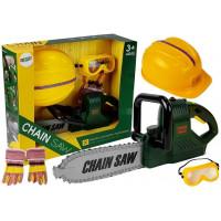 Detská motorová píla s príslušenstvom Inlea4Fun CHAIN SAW