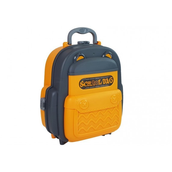 Detská dielňa s náradím v batohu 2v1 Inlea4Fun SCHOOL BAG