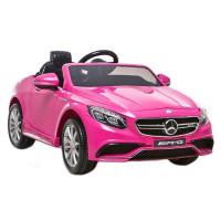 Elektrické autíčko MERCEDES S63 AMG ružové 2019
