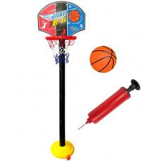 Basketbalový kôš s doskou Inlea4Fun SUPER SPORT SET BASKETBALL  Preview