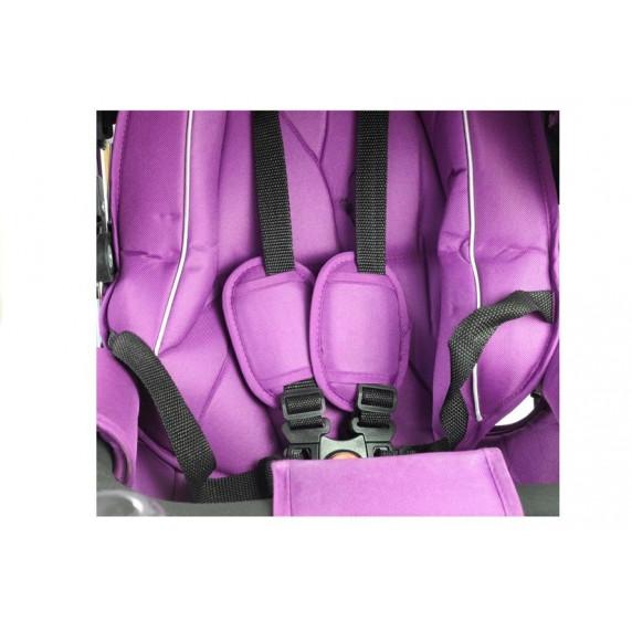 Inlea4Fun Trojkolka PRO700 - fialová