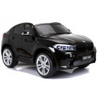 BMW X6M elektrické autíčko NEW DESIGN čierne - lakované prevedenie 2019