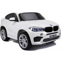 BMW X6M elektrické autíčko NEW DESIGN biele - lakované prevedenie 2019