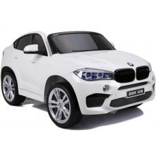 BMW X6M elektrické autíčko NEW DESIGN biele - lakované prevedenie 2019 Preview