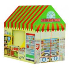 Inlea4Fun Detský stan Rozkladací supermarket Preview