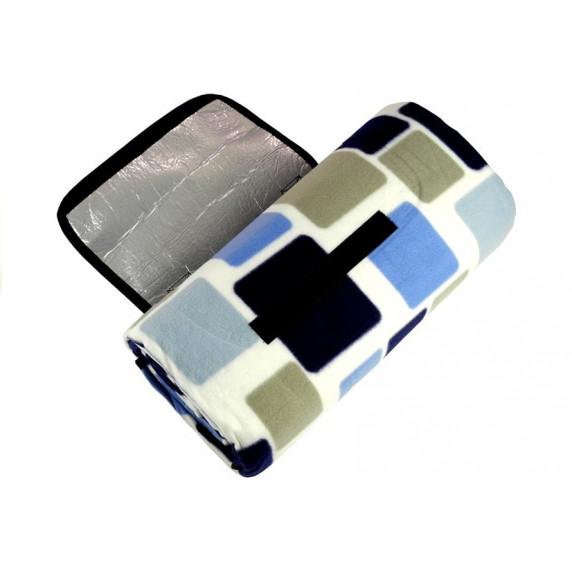 InGarden Pikniková deka 150x200 cm - modrá a biela izolácia