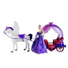 Inlea4Fun ILLUSION STATE Bábika s koňom a kočom Preview