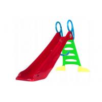 Inlea4Fun Vodná šmykľavka s držadlom 200 cm - červená