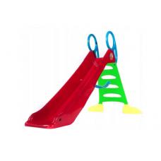 Inlea4Fun Vodná šmykľavka s držadlom 200 cm - červená Preview