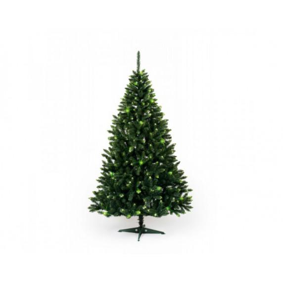 Inlea4Fun Konrad Vianočný stromček Smrek zelená 220 cm