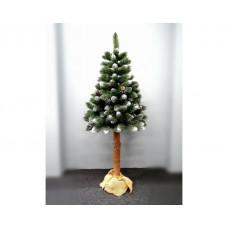 Inlea4Fun Zasnežený vianočný stromček VERONA  180 cm s kmeňom Preview