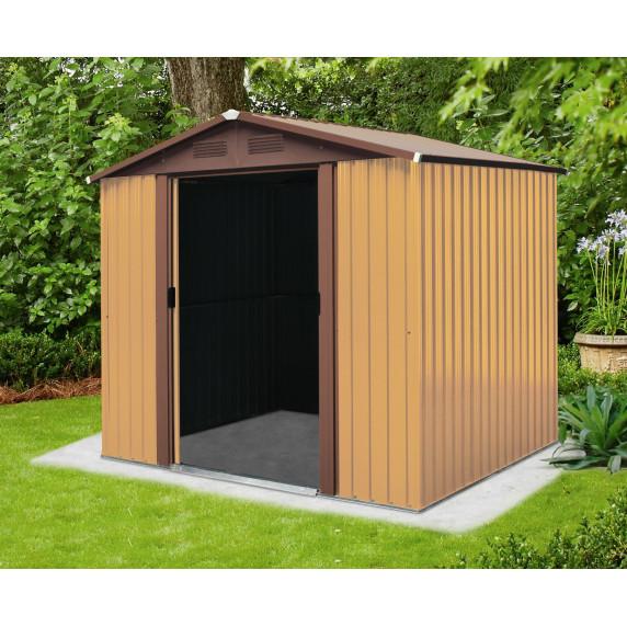 Záhradný domček MAXTORE 1012 - Hnedý