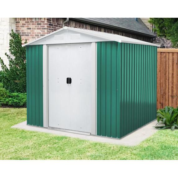 Záhradný domček MAXTORE 65 zelený