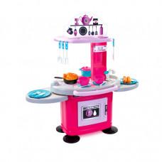 MOCHTOYS Detská kuchynka s 26 doplnkami 10146 - ružová Preview