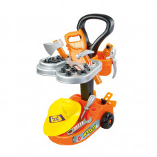 MOCHTOYS Detský údržbársky vozík s príslušenstvom 10316 Preview