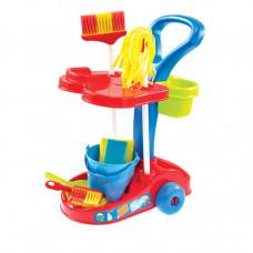 MOCHTOYS Detský upratovací vozík s príslušenstvom 10317 Preview