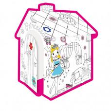 MOCHTOYS Coloring House 11122 Papierový domček - omaľovánky Princezná Preview