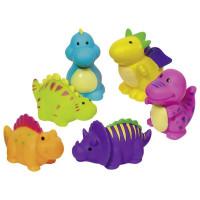Gumené zvieratká do kúpeľa Goki - dinosaury