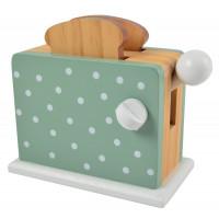 Detský drevený hriankovač Magni - zelený