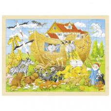 Drevené puzzle Goki - Noemova archa Preview
