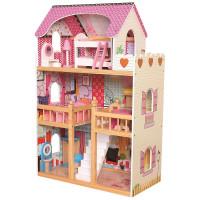 Drevený domček pre bábiky Bino